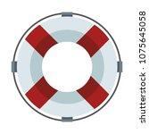 float life saver | Shutterstock .eps vector #1075645058