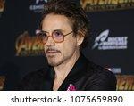 robert downey jr. at the... | Shutterstock . vector #1075659890