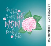mothers day background layout | Shutterstock .eps vector #1075662194