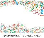 abstract background for... | Shutterstock .eps vector #1075687760