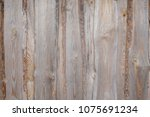 dark wood texture background... | Shutterstock . vector #1075691234