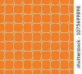 orange geometric ornament....   Shutterstock .eps vector #1075699898