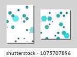 light blue hexagon vector...