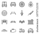 flat vector icon set   school... | Shutterstock .eps vector #1075712153