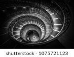 vatican  rome  italy   oct 5 ... | Shutterstock . vector #1075721123