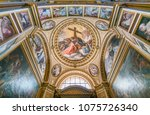 chapel of the passion  in the... | Shutterstock . vector #1075726340