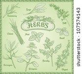 outline illustration fresh... | Shutterstock .eps vector #107574143