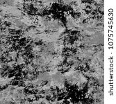 dark grunge background. grey... | Shutterstock . vector #1075745630