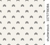 seamless pattern with arrows... | Shutterstock .eps vector #1075758386