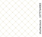 geometric dotted vector pattern....   Shutterstock .eps vector #1075764083