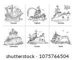 vector illustration of doodle...   Shutterstock .eps vector #1075766504