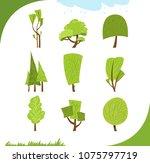 illustration of different... | Shutterstock .eps vector #1075797719