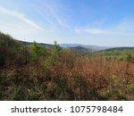 picturesque little beskid... | Shutterstock . vector #1075798484