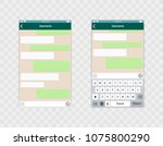 whats app template whith mobile ...