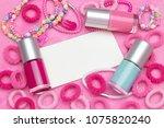 an overhead photo of little... | Shutterstock . vector #1075820240