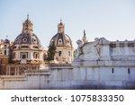 santa maria di loreto  st maria ... | Shutterstock . vector #1075833350