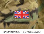 cropped closeup shot of a uk...   Shutterstock . vector #1075886600