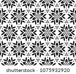 flower geometric pattern.... | Shutterstock .eps vector #1075932920