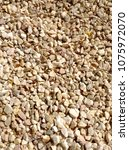 gravel texture background | Shutterstock . vector #1075972070