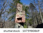 Fireplace And Chimney Of...