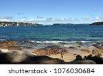 manly  australia   feb 4  2018. ... | Shutterstock . vector #1076030684