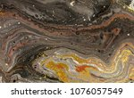 marble abstract acrylic... | Shutterstock . vector #1076057549