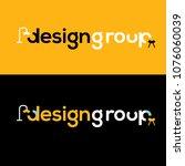 design vector logo. design... | Shutterstock .eps vector #1076060039