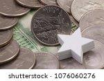 a quarter of arizona  quarters...   Shutterstock . vector #1076060276