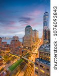 new york  new york  usa... | Shutterstock . vector #1076093843
