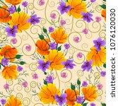 vector design of seamless... | Shutterstock .eps vector #1076120030