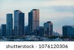 shanghai   china   12 november  ... | Shutterstock . vector #1076120306