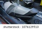 jet ski cushion. | Shutterstock . vector #1076129513