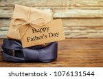 happy father's day.... | Shutterstock . vector #1076131544