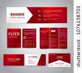 banner  flyers  brochure ... | Shutterstock .eps vector #1076158703