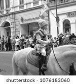 brasov  transylvania  romania ... | Shutterstock . vector #1076183060
