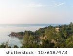 beautiful scenery of koh pangan ... | Shutterstock . vector #1076187473