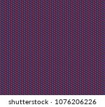 isometric grid. vector seamless ... | Shutterstock .eps vector #1076206226