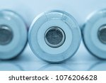 Small photo of The anode of the battery.