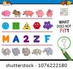 cartoon illustration of finding ...   Shutterstock .eps vector #1076222180