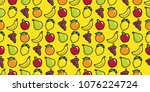repeating seamless pattern of... | Shutterstock .eps vector #1076224724
