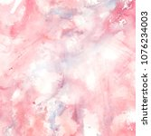 watercolor abstract painting | Shutterstock . vector #1076234003