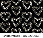 sequins seamless pattern.... | Shutterstock .eps vector #1076238068