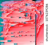 3d rendering of abstract... | Shutterstock . vector #1076239286