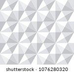 seamless geometric pattern.... | Shutterstock .eps vector #1076280320