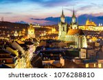 amazing cityscape view of... | Shutterstock . vector #1076288810