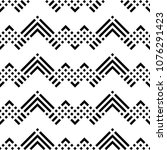Seamless Pattern With Chevrons  ...