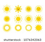 Set Of The Suns. Cute Suns....