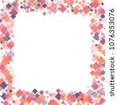 rhombus pattern minimal... | Shutterstock .eps vector #1076353076