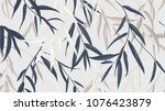 floral seamless pattern ... | Shutterstock .eps vector #1076423879