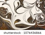 marble abstract acrylic... | Shutterstock . vector #1076436866
